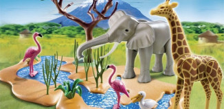 Playmobil - 5906 - Wildlife water standpost