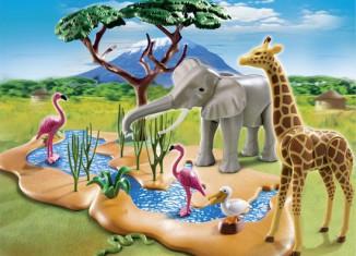 Playmobil - 5906 - Wildlife water standpost