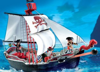 Playmobil - 5950-usa - skull and bones pirate ship