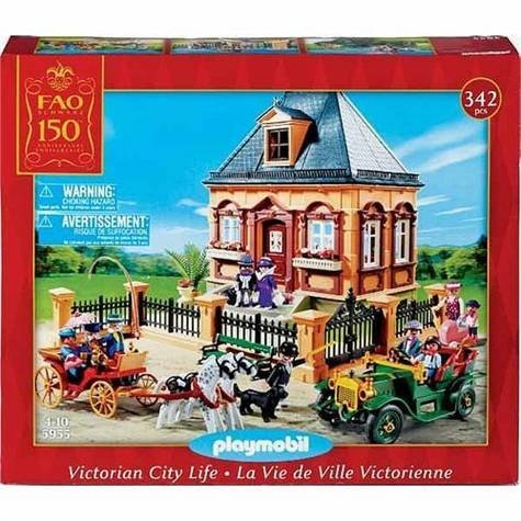 Playmobil 5955-usa - Special FAO Edition Victorian City Life - Box