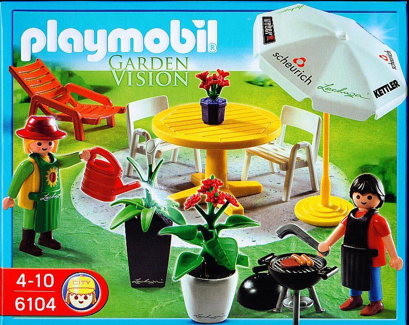 Playmobil Set: 6104 - Garden Vision - Klickypedia