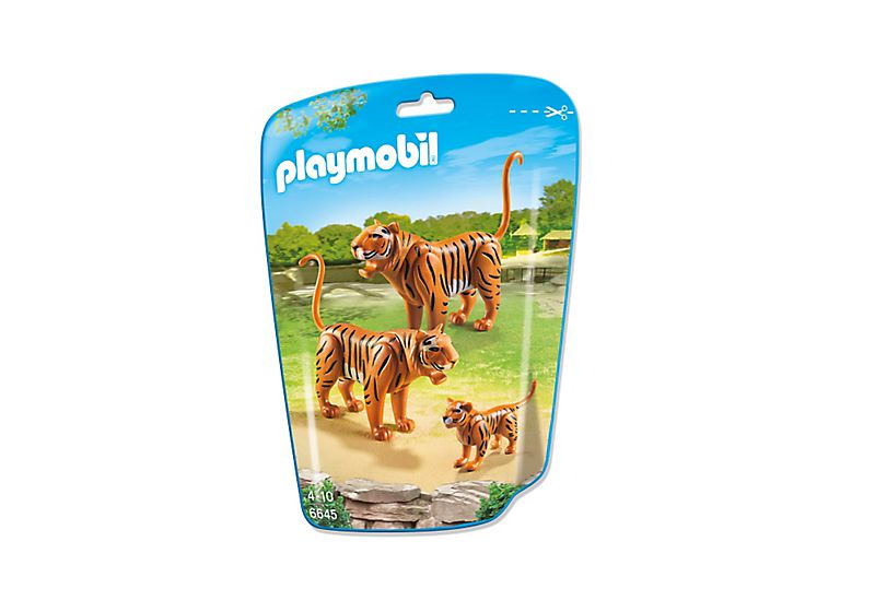 Playmobil 6645 - 2 Tiger with Baby - Box