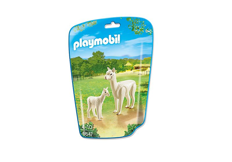 Playmobil 6647 - Alpaca with baby - Box
