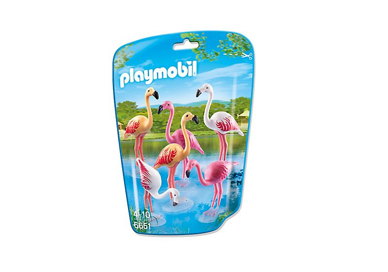 Playmobil 6651 - Flock of Flamingos - Box