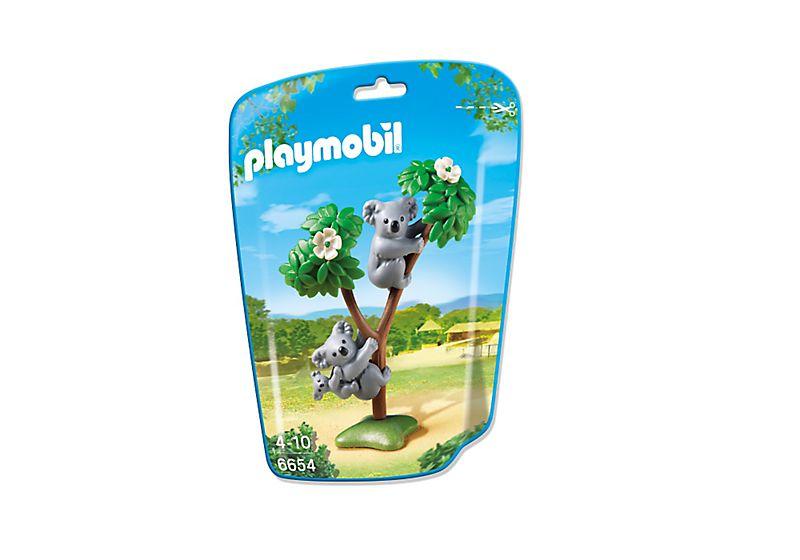 Playmobil 6654 - 2 Koalas with Baby - Box