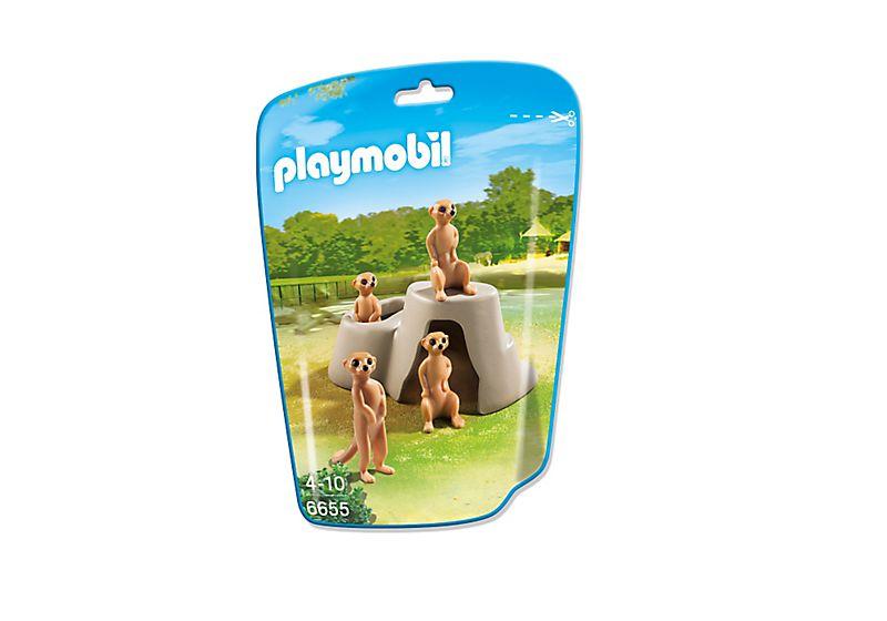 Playmobil 6655 - Meerkat Den - Box