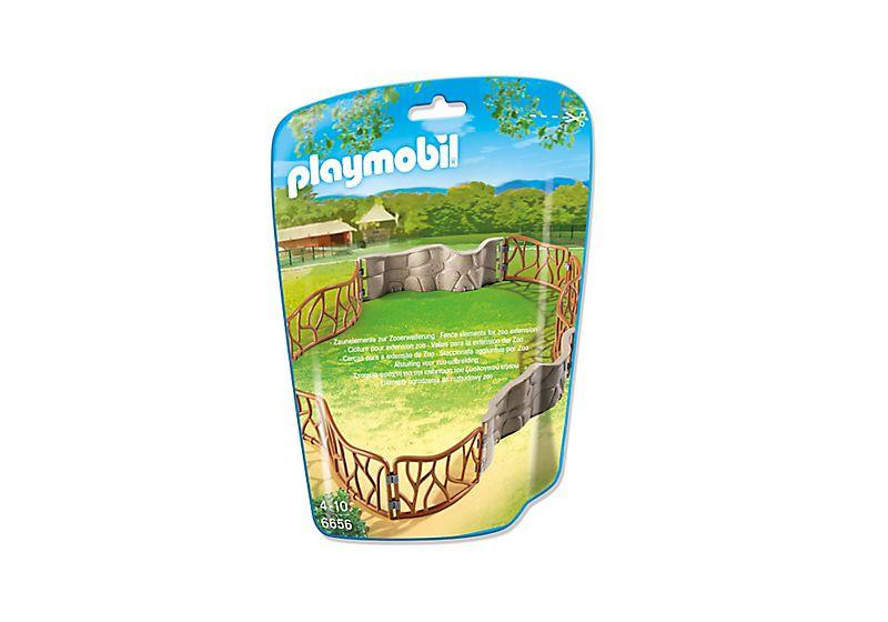 Playmobil 6656 - Zoo fences - Box