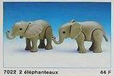 Playmobil - 7022 - 2 Baby Elephants