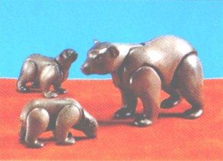 Playmobil - 7032 - Bear With 2 cubs