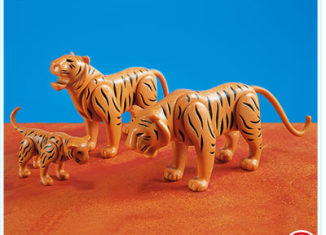 Playmobil - 7037 - 2 Tigers with Cub