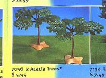 Playmobil - 7056 - 2 Acacia Trees