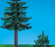 Playmobil - 7134 - Large & Small Pine Tree