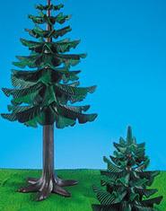 Playmobil - 7134 - Large & Small Pine Tree