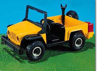 Playmobil - 7141 - Off-Road Service Vehicle
