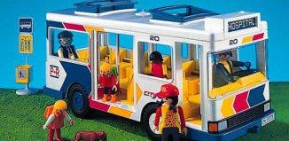 Playmobil - 7151 - City Bus & Bus Stop