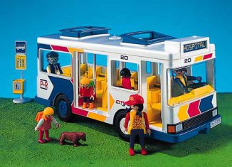 Playmobil - 7151 - City Bus & Bus Stop