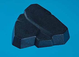 Playmobil - 7164 - Square Gray Rock Form