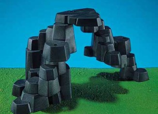 Playmobil - 7167 - Rock Landscape (Small, Dark Gray)