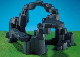 Playmobil - 7168 - Rock Landscape (Large, Dark Gray)