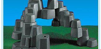 Playmobil - 7176 - Rock Landscape (Small, Light Gray)
