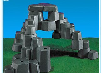 Playmobil - 7176 - Rock Landscape (Small, Light Gray)