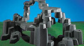 Playmobil - 7178 - Rock Landscape (Large, Light Gray)