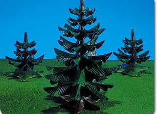 Playmobil - 7180 - 3 Pine Trees
