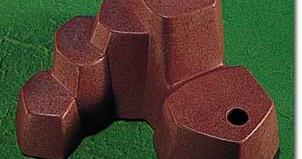 Playmobil - 7208 - Rock Form (Medium, Western Red)