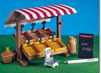 Playmobil - 7255 - Victorian Market Stand