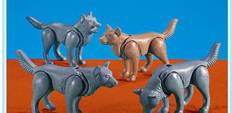 Playmobil - 7258 - 4 Wolves
