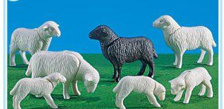 Playmobil - 7259 - 4 Sheep and 3 Lambs
