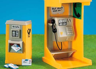 Playmobil - 7313 - Telephone Booth and Mailbox