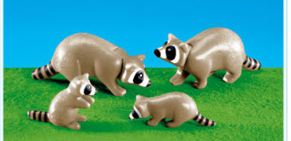Playmobil - 7365 - Raccoon family