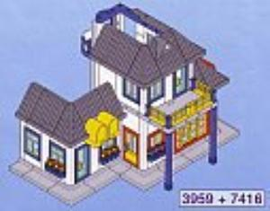 Playmobil - 7418/3959v1 - City House Addition