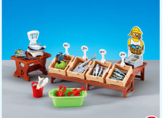 Playmobil - 7455 - Furnishings for Fish Stand