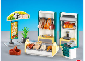 Playmobil - 7457 - Furnishings for Butcher Shop