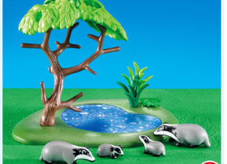 Playmobil - 7467 - Badger Family