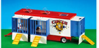 Playmobil - 7468 - Wild Animal Circus Wagon