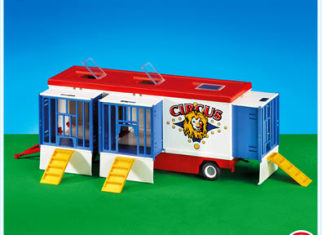 Playmobil - 7468 - Wild Animal Circus Wagon