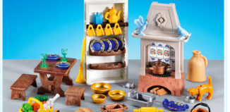 Playmobil - 7469 - Furnishings for Castle Kitchen