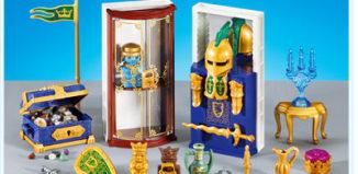 Playmobil - 7470 - Furnishings for Treasure Room