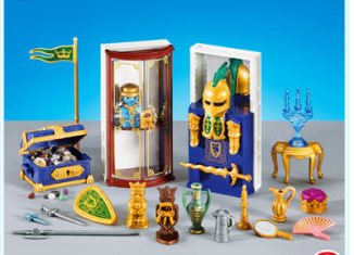 Playmobil - 7470 - Furnishings for Treasure Room