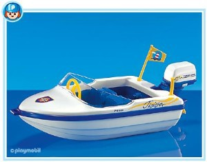 Playmobil - 7646 - Motorboat