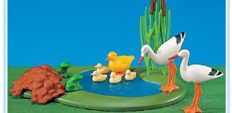 Playmobil - 7699 - Frog Pond/Duck and Storks