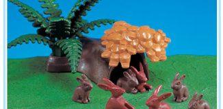 Playmobil - 7719 - Rabbit Hiding Place