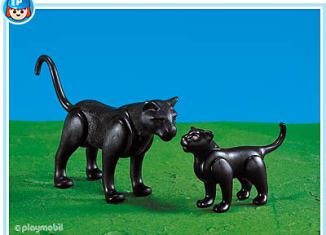 Playmobil - 7747 - Panther with Baby