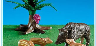 Playmobil - 7749 - Wild Boar Family