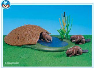 Playmobil - 7865 - 3 Beavers