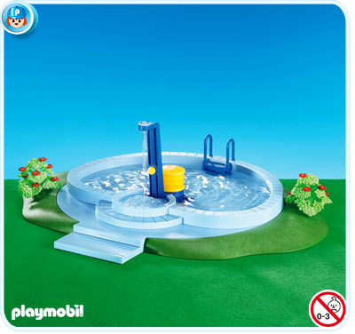 Playmobil set 7934 swimming pool klickypedia - Playmobil swimming pool best price ...