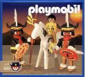Playmobil - 9505-ant - Indian Warriors And Boy